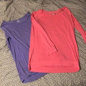 Victoria's Secret lounge shirts bundle